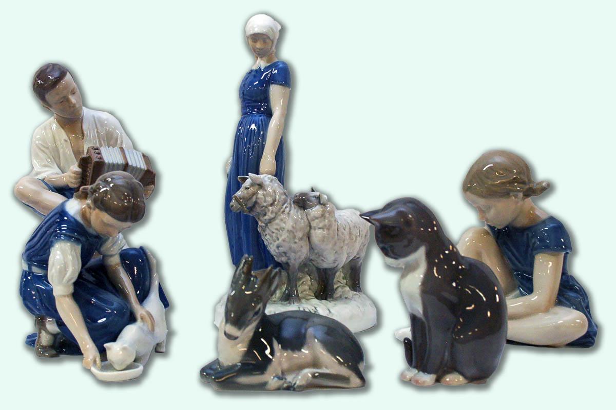 B&G och KD figuriner