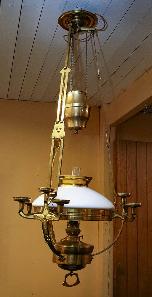 Hängfotogenlampa Böhlmark